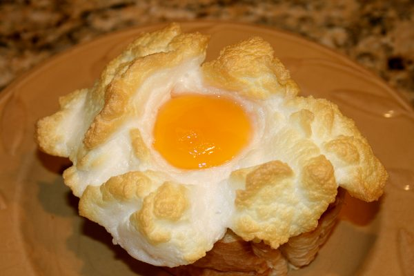 Miss Egan's Cloud Eggs – Eggs In A Nest