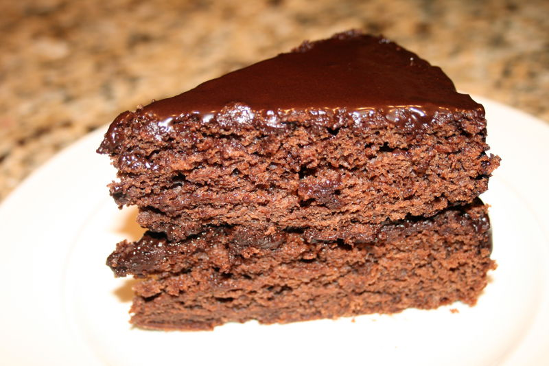 Mrs. Stevenson's Chocolate Honey Cake