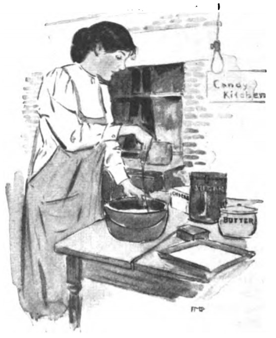 Candy Recipes from 1916