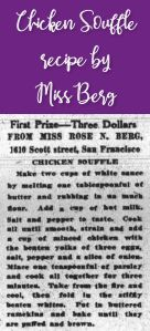 Chicken Souffle by Miss Berg