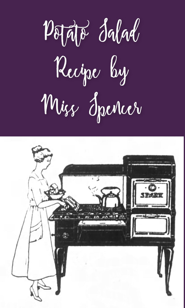 Potato Salad Recipe by Miss Spencer