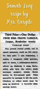 Tamale Loaf by Mrs. Cargile