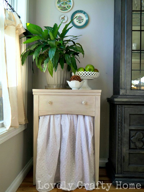 skirted side table 1