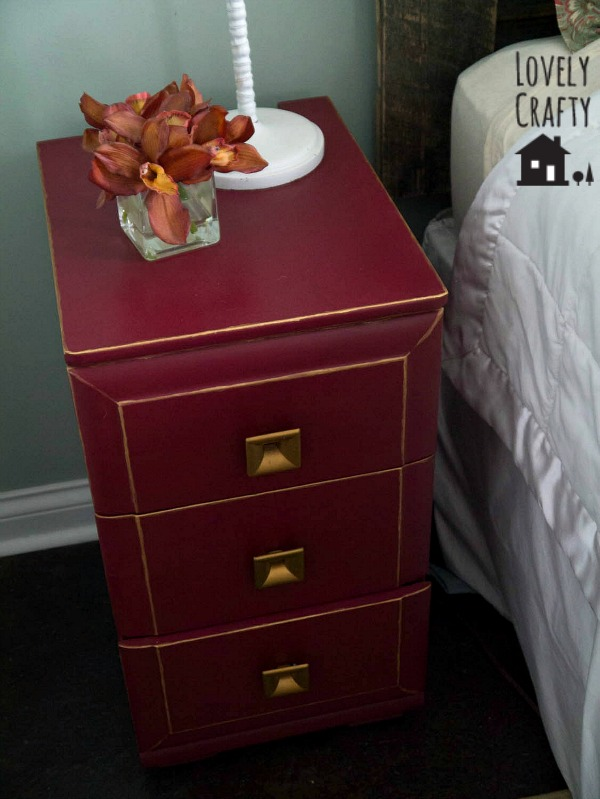 DIY Painted Nightstand