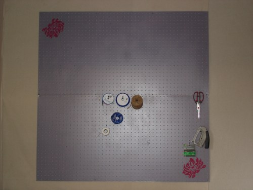 Finished Pegboard