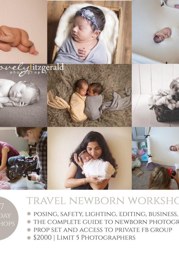 Travel Newborn Workshops | Newborn Photography Mentor