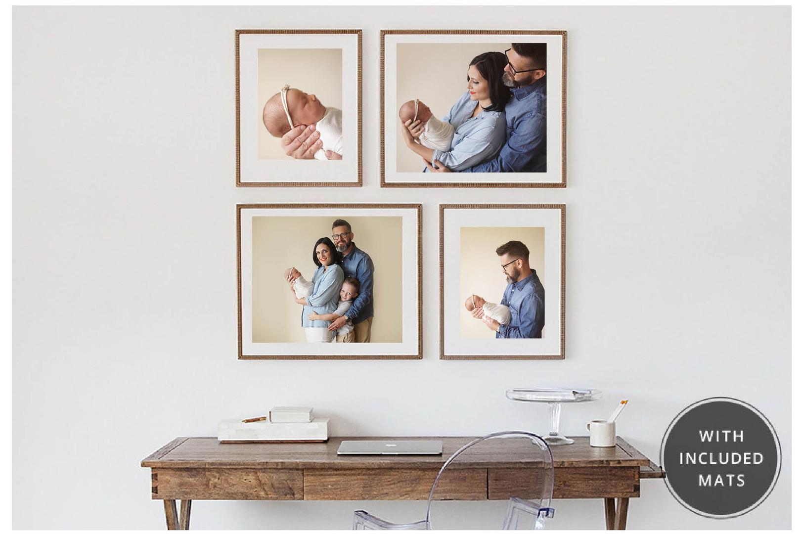 dallas newborn photographer wall portrait