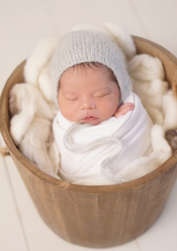 Plano Newborn Photography | 5 Day Old Emerson
