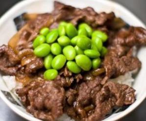 Gyudon (Beef Rice Bowl)