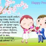 Happy Propose Day Cute Animated Lovely Images Wallpaper 2015|Propose Day Pics 2015