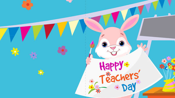 happy teachers day cute hd photo