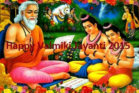 Happy Valmiki Jayanti 2015