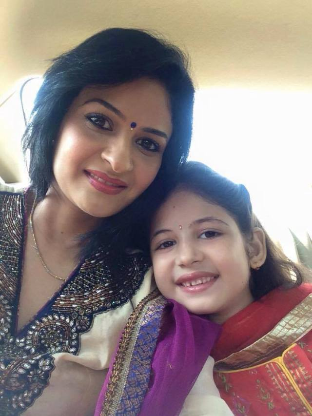 Cute Munni with her mom Latest Pics