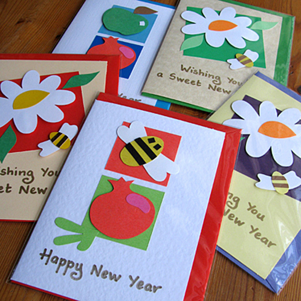 Easy Handmade New Year Cards For Kids Simple Cards Kaise Bnate H