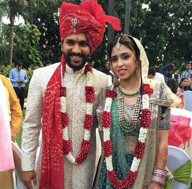 rohit sharma ki shadi