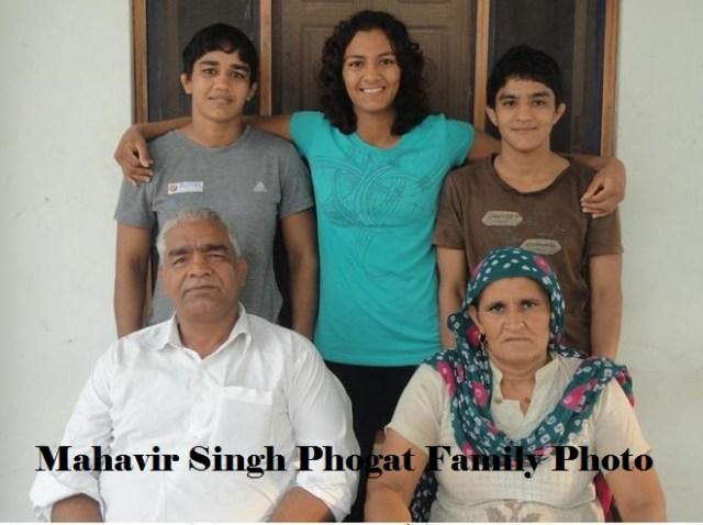 Mahavir Singh Phogat family Pics