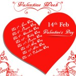 Valentine's Week Days List which day is celebrated on which date in Valentine's Week Calender