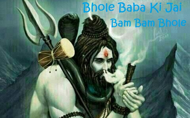 bhole baba with Chillam Images pics