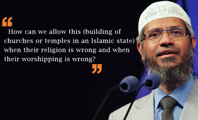 zakir naik's quotes