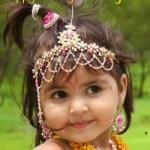 Cute Bal Krishna Pic Kanhaiya ji Bal gopal Lovely Images Janmashtami Wallpaper