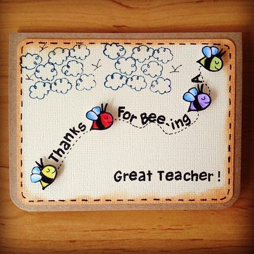 happy teachers day handmade card designs simple and easy