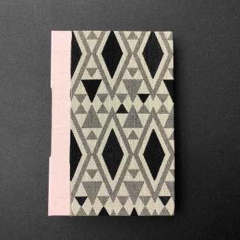 Caderno A5 Kraft Inc. - Costura Longstich com Box