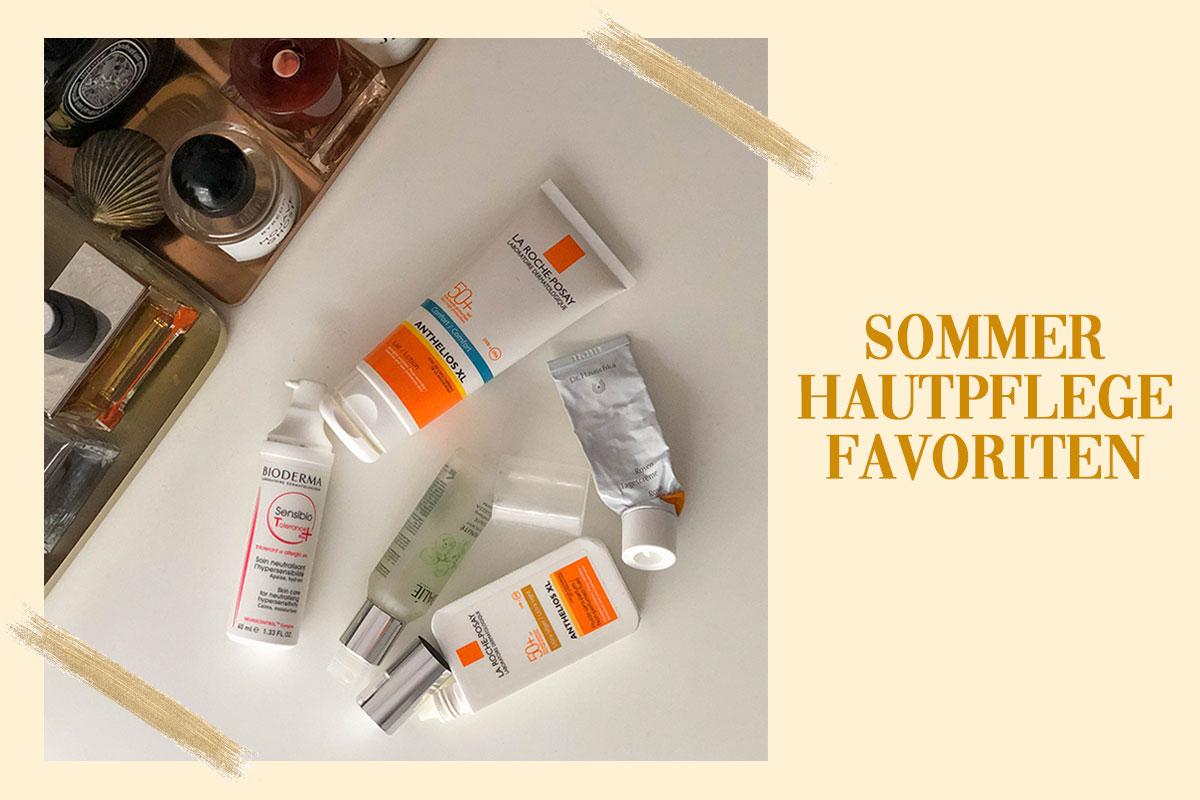 Sommer Hautpflege Favoriten