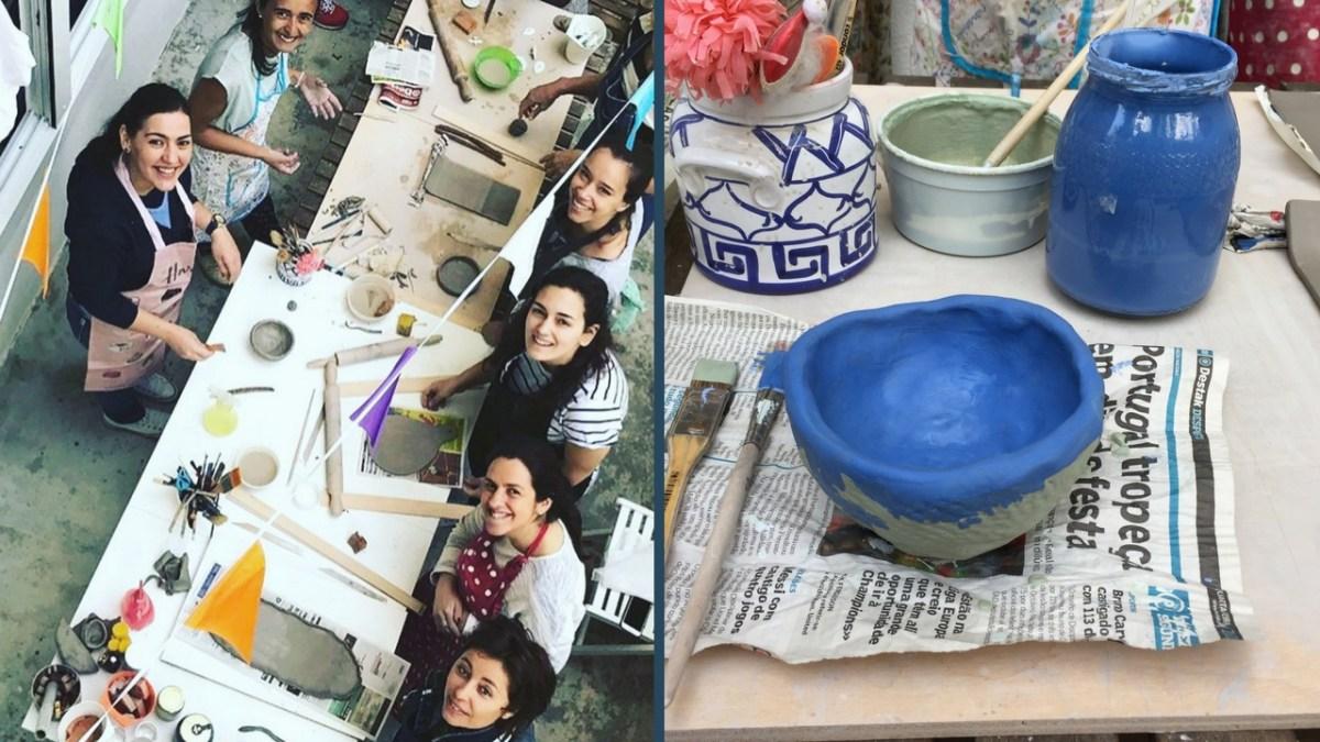 Pôr as mãos no Barro - Workshop de Cerâmica
