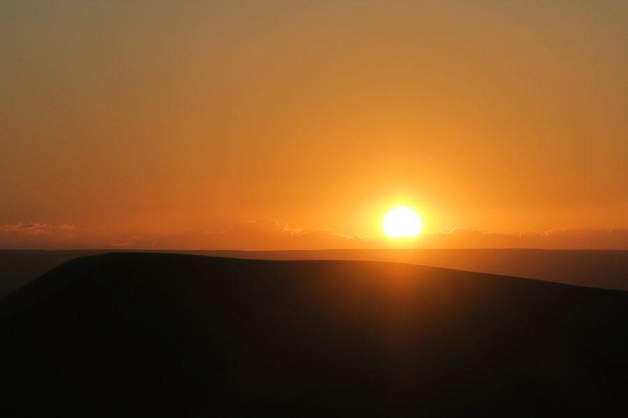 Nascer do Sol nas Dunas de Erg Chebbi - Deserto do Saara - Merzouga