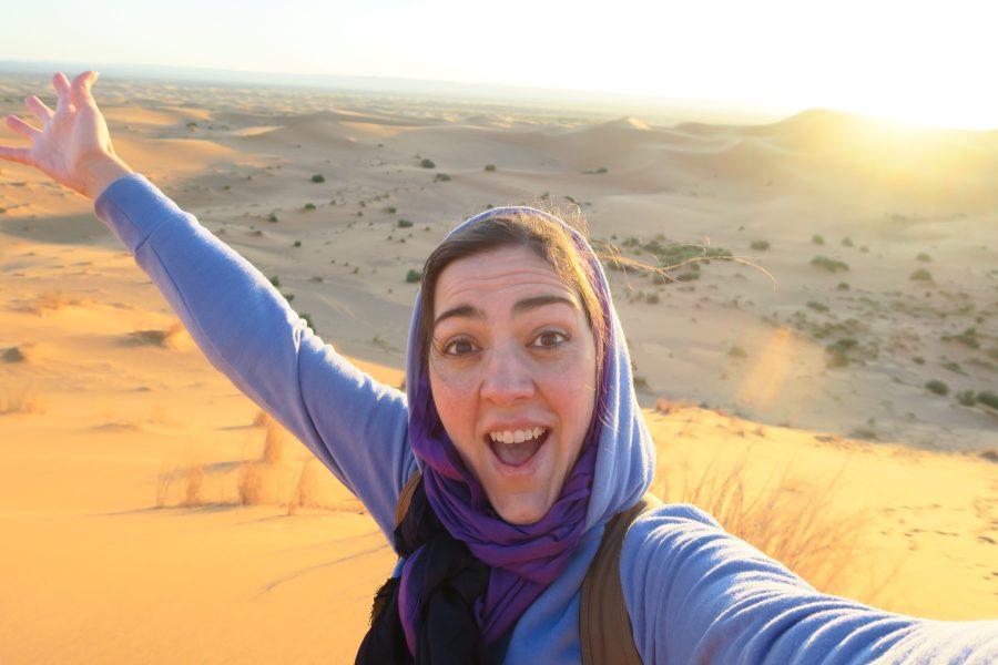 Subir as Dunas para assistir ao Nascer do sol no deserto