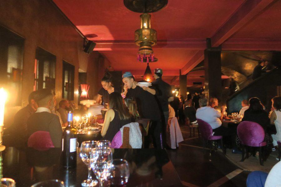 Restaurante Comptoir Darna em Marraquexe - Marrocos