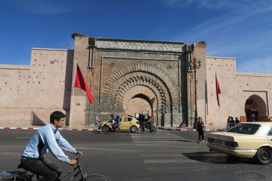 Agnaou, é uma das 20 portas da cidade de Marraquexe