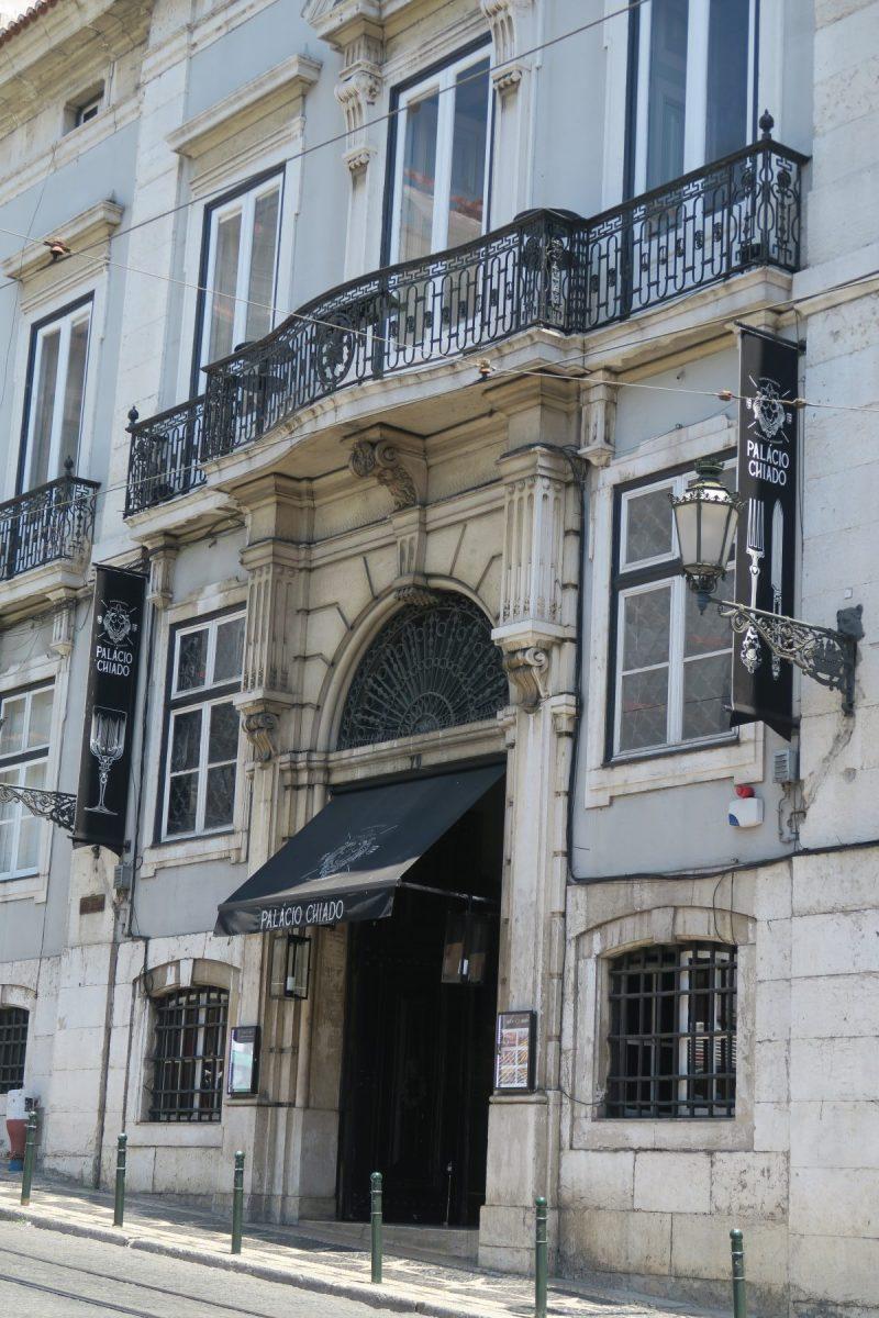 Palácio Chiado Fachada