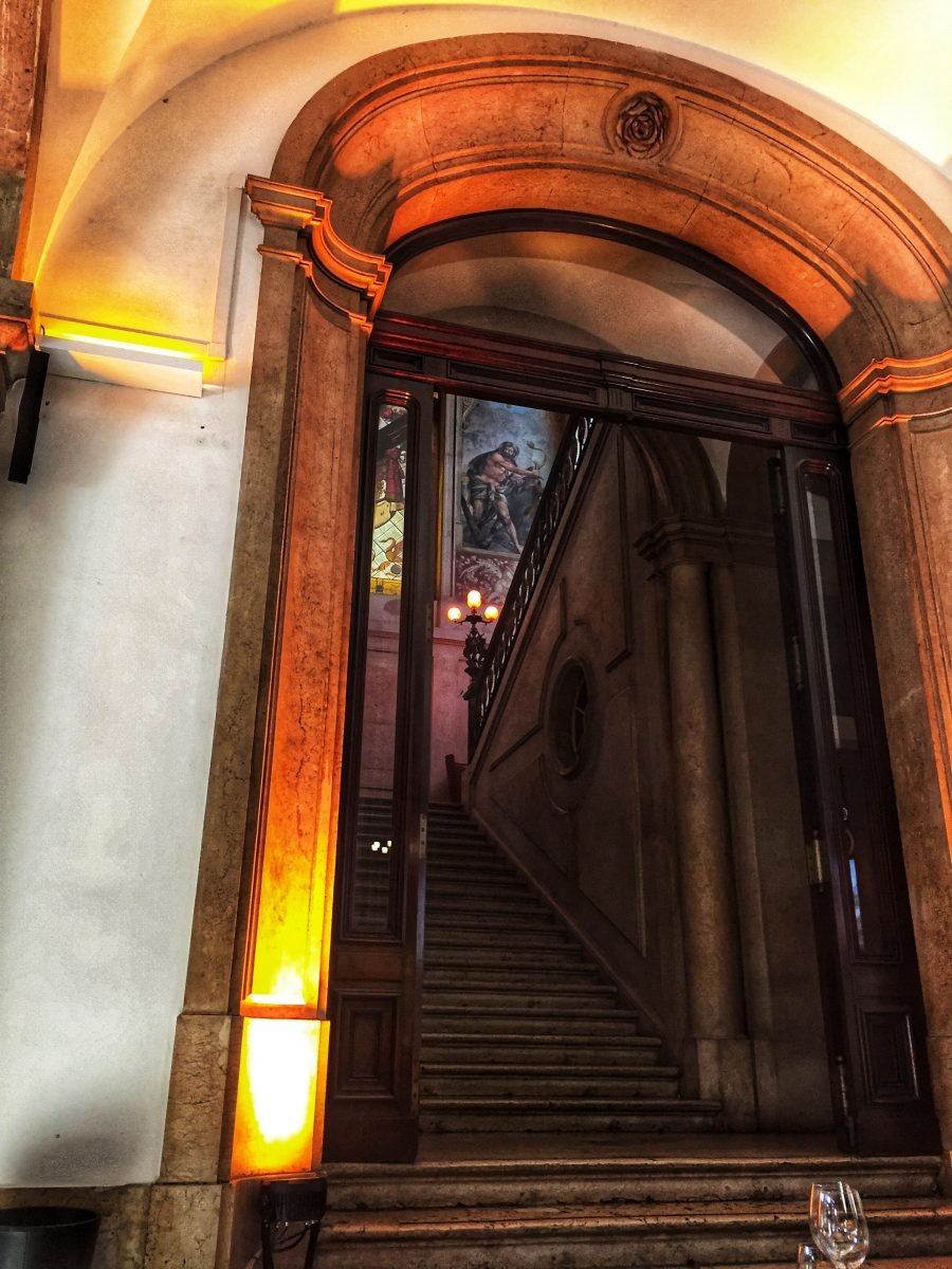 Palácio Chiado Escadaria