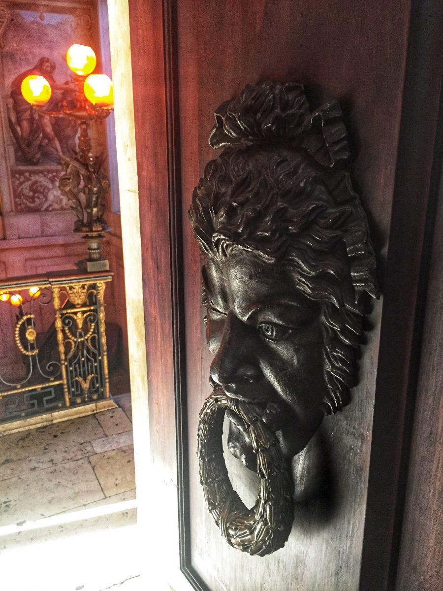 Palácio Chiado - Detalhe Porta