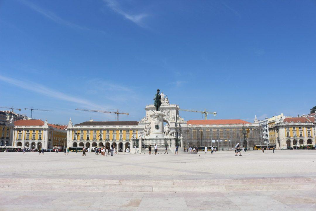 Conhecer a Lisboa Maçónica Walking Tour praça do comércio terreiro do paço