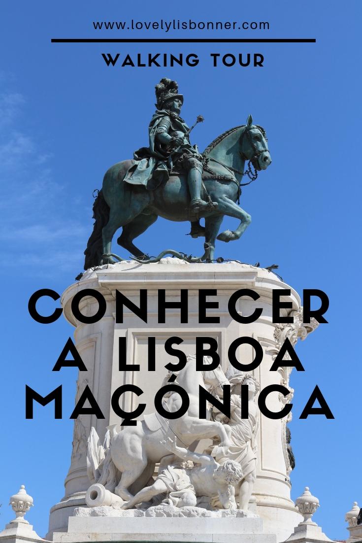 Conhecer a Lisboa Maçónica Walking Tour triple