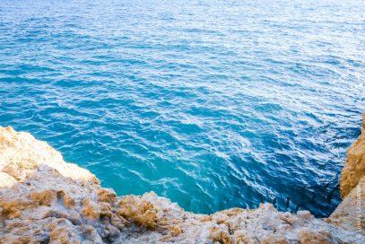 mar perto do algar seco