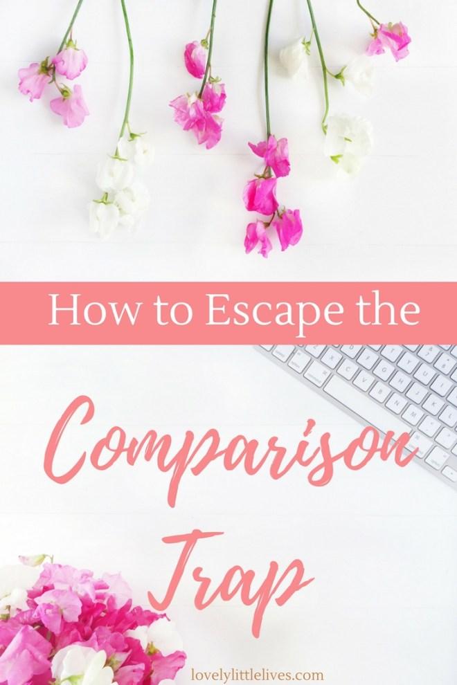 How to Escape the Comparison Trap