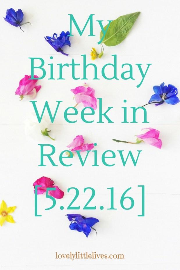 Birthday Week