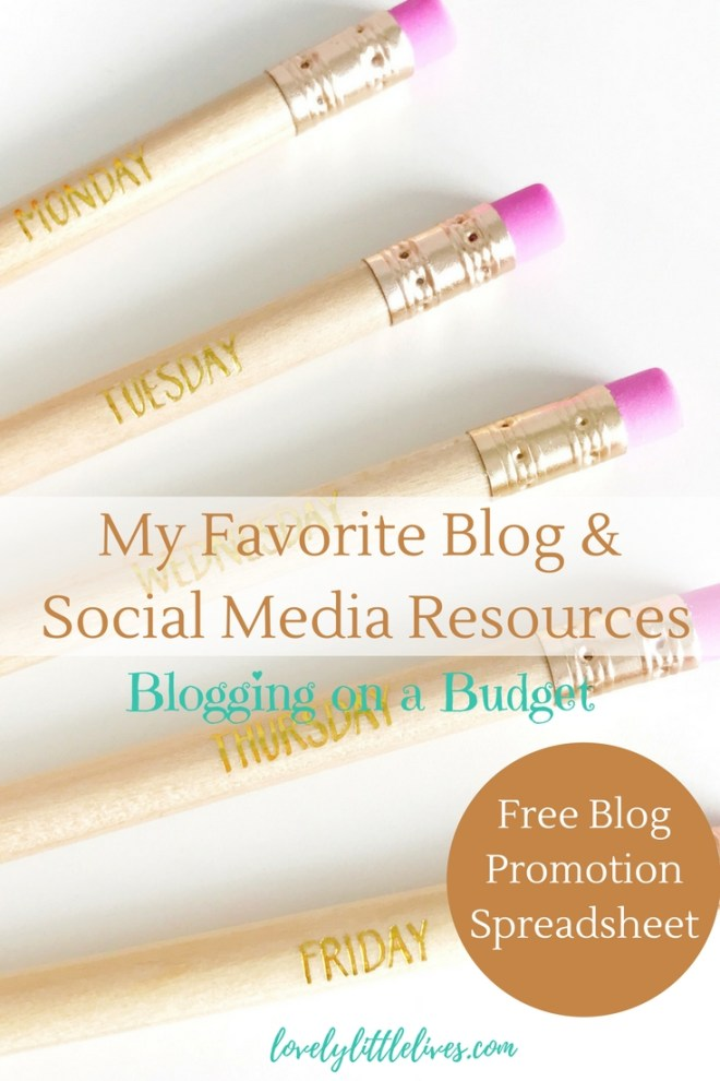 Favorite Blog and Social Media Resources