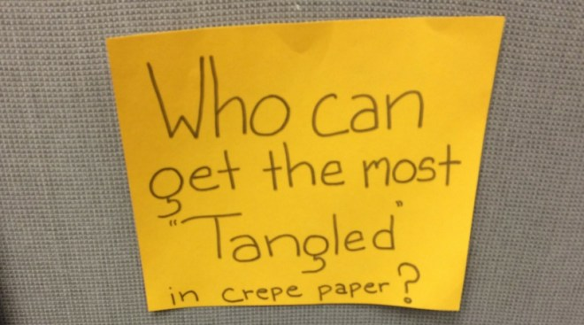 Tangled Crepe Paper