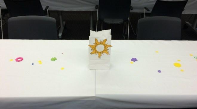 Tangled Sunburst Confetti