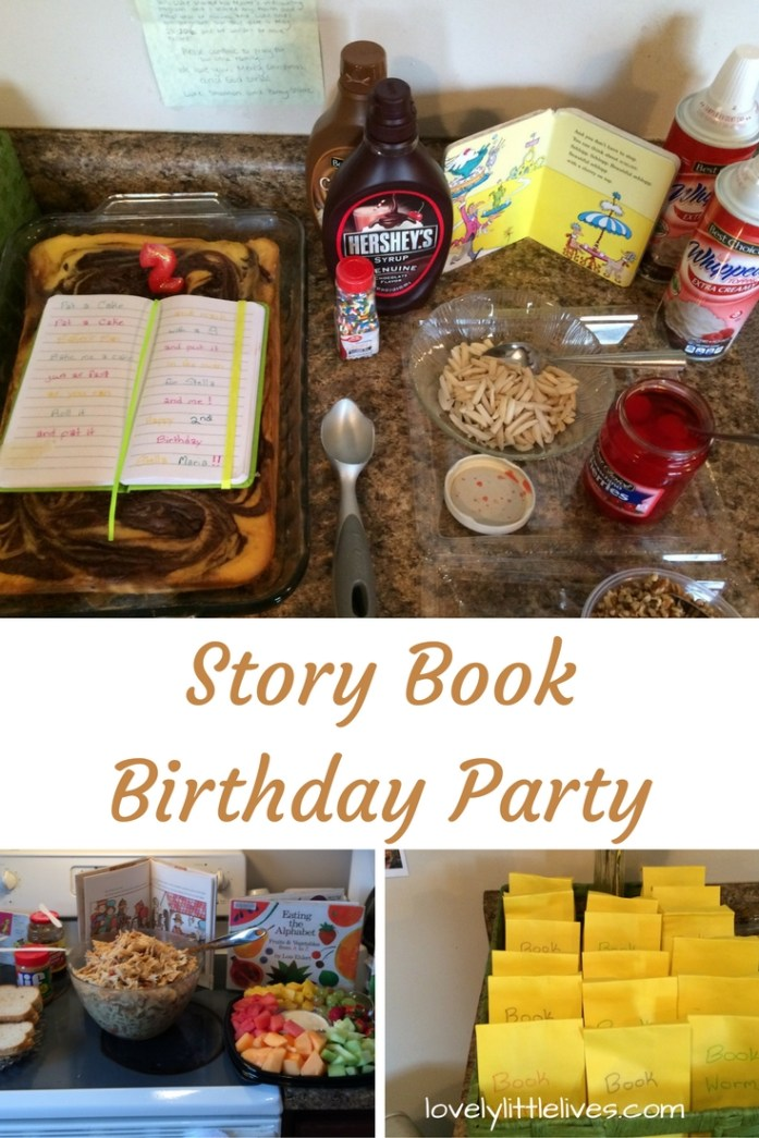 Story Book Birthday Party