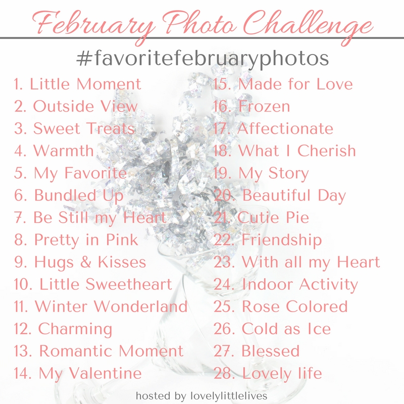 Join me on Instagram throughout February Photo Challenge