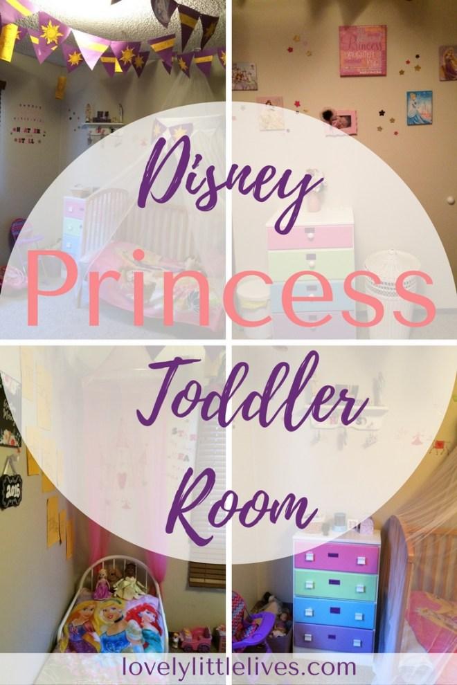Disney Princess Toddler Bedroom