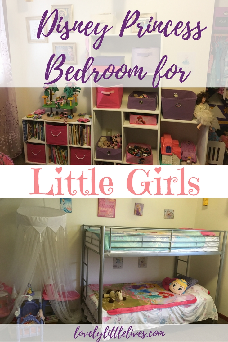 how to create a princess bedroom