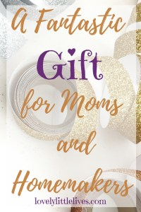 A fantastic gift for moms and homemakers
