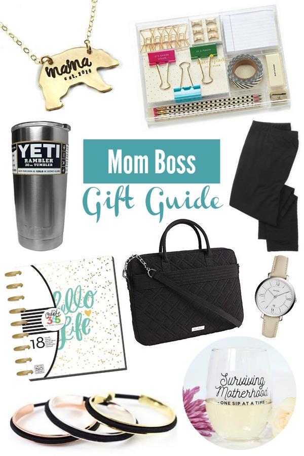 GIFT GUIDE – MOM BOSS