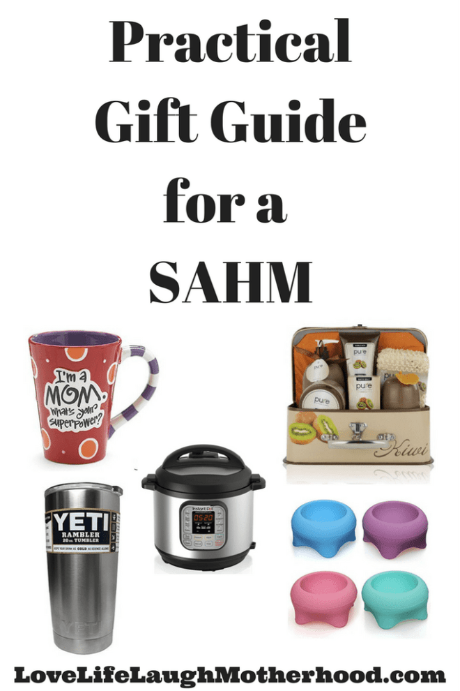 Practical Gift Guide for a Stay at Home Mom